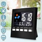 Digital Weather Station Thermometer Hygrometer Indoor Temperature Humidity Clock
