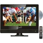 """13.3"""" 720p Widescreen LED HDTV-DVD Combination, AC-DC Compatible with RV-Boat"""