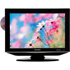 """Sharp LC-19DV24U 19"""" 16:10 LCD with Side Loading DVD Player"""