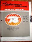 Factory Service Manual - 1978 Johnson Electric Bow Mount Outboards