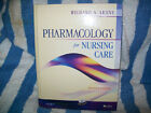 PHARMACOLOGY for Nursing Care by Richard A. Lehne*7th ED (2009) LOOKS NEW