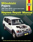 SHOP MANUAL MONTERO PAJERO SERVICE REPAIR MITSUBISHI BOOK HAYNES CHILTON