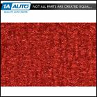 for 1981-82 Chevy Corvette Cutpile 7293-Red Cargo Area Carpet Molded