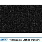 for 70-75 Chevy Corvette with Padding Cutpile 801-Black Cargo Area Carpet Molded
