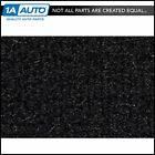 for 1992-97 Toyota Corolla 4 Door Cutpile 801-Black Complete Carpet Molded