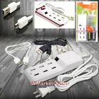 6FT Cable 6xUSB Socket Port Output Power Adapter + Data Cable Micro USB Galaxy
