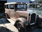 Willys : sedan blue 1927 Willys Knight model 70 A