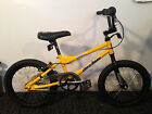 """2002 HARO TR2.16 Yellow 16"""" PIT BIKE Old School BMX Ready to RIDE Excellent con"""
