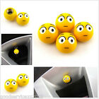 4 X Yellow Shocked Face Expression Automobile Valve Stem Dust Cap For Honda CR-V