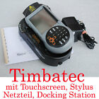 Timbatec Pda Pocket PC Touchscreen Docking Station Windows Ce Laserscanner Top