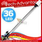12V 60cm LED PLUG-IN BOAT ANCHOR STERN NAVIGATION ALL-ROUND WHITE LIGHT