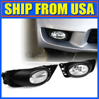 US Clear For 09-11 Honda Civic Sedan Front Bumper Fog Driving Light OE Style ND
