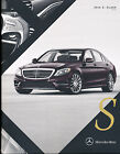 2016 Mercedes Benz S-Class 30-page Car Brochure Catalog - S550 S600 S63 S65 AMG