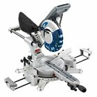 Draper Expert 250mm 2000W 230V Double Bevel Mitre Saw/Laser Cutting Guide- 28043