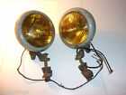 Yankee Clipper Fog Lights Set of 2 With Mounts Painted Steel    - MS53