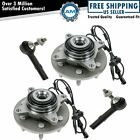 Front Wheel Bearing Hub Assembly Outer Tie Rod End for Expedition Navigator 4WD