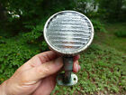 """Antique Brass Era Cowl Light with a Ribbed Glass Lens 2 5/8"""""""