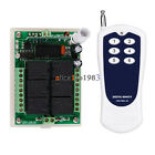 DC 12V 6CH Channel RF Wireless Remote Control Switch Transmitter + Receiver