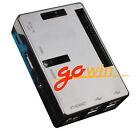 Premium Black Case Boxes Raspberry Pi 2 Model B Case Cover Enclosure Box  V2 ABS