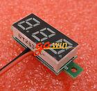 """0.28"""" DC Digital Voltmeter Panel Mount LED Voltage Volt Meter Red 2.5-30V"""