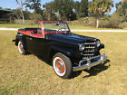 1950 Willys Jeepster Chrome 1950 Willys Overland Jeepster nice driver Six Cylinder