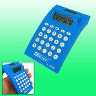 Smart 8 Digits Portable Blue Electronic Calculator