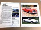 Nash-Healey Original Car Review Print Article J669  1951 1952 1953 1954