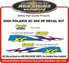 2000 POLARIS INDY XC  600 SP HOOD DECALS graphics reproductions