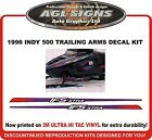 1996 POLARIS INDY 500 TRAILING ARM IFS XTRA DECALS , graphics reproduction
