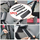 5 Pcs DIY Black Plastic Car Vehicle Windows/Door Pry Wedge Repair Household Tool