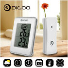 Digoo DG-TH1980 Digital LCD Thermometer Temperature Monitor In & Out Desk Clock