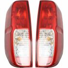 NI2801206, NI2800206 Right+Left Side New Tail Lights Lamps Set of 2 LH & RH Pair
