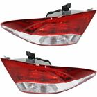 Right+Left Side Outside New Set of 2 Tail Lights Lamps LH & RH for Camry Pair