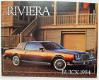 1984 Buick Riviera Sales Folder - Canadian - French Text