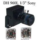 "GN-292  HD 960TVL Sony 1/3"" 2.8-12mm Manual Focus Zoom Lens CCTV  Color Camera"