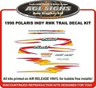 1998 POLARIS INDY RMK Trail  Reproduction Decal Kit  graphics stickers