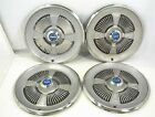 """1965 FORD HUBCAPS 15"""" WHEEL COVERS GALAXIE"""