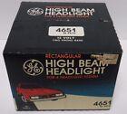 NOS NEW IN BOX Vtg 1980s GE RECTANGULAR HIGH BEAM HEADLIGHT 12 VOLT 2 PRONG 4651