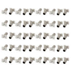 50 Pcs 3511J53 3.5x1.1mm DC Power Adapter Jack Socket Female Bucket Connector