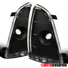 94-97 Chevy S10/ Blazer Black Park Turn Signal Lamp Corner Lights