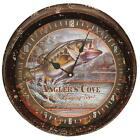 "Rivers Edge Products 1029 Metal Clock 15"" Bass Metal Clock 15"""