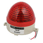 AC220V Buzzer Sound Rotating Industrial Signal Tower Warning Light Red LED TB-60