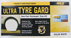 "New ADCO Ultra Tyre Gard Size 3 27"" to 29"" - 1 pair in Polar White"