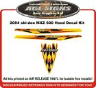 2004  SKI-DOO MXZ 600 H.O. Replacement Hood Decal Kit  Renegade 800
