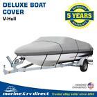 Deluxe Waterproof, Trailerable Boat Cover  Brand 14 15 16 Foot 600 Denier