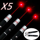 5Sets 650nm Tactical Red Laser Pointer Bright Visiable Light Cat Toy