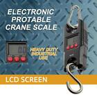 1X New Mini 300Kg 100g Heavy Duty Hook Hanging Electronic Digital Scale GA