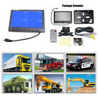 "9"" TFT LCD Split Screen Quad Monitor Surveillance Car Headrest Rear View Monitor"