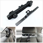 Black Car Baby Safety Seat Belts ISOFIX Latch Connector Interfaces Guide Holder