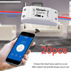 20pcs Sonoff WiFi Wireless ITEAD DIY Smart Home Switch for Apple Android APP IOS